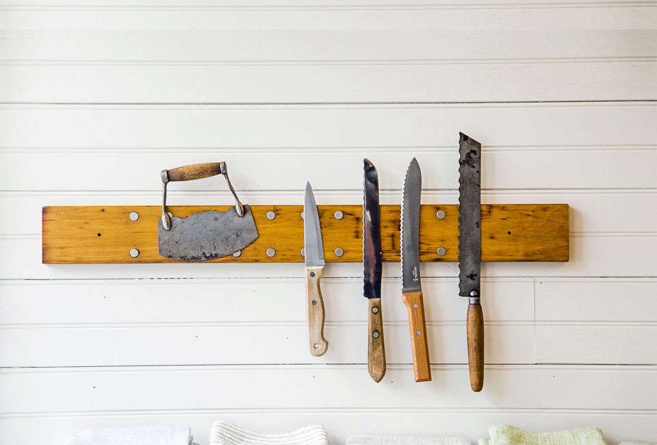 Peg and Awl Knife Rack