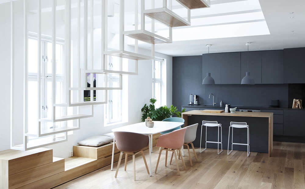 Idunsgate apartment project by Haptic Architects
