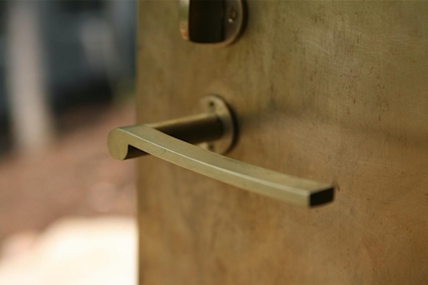Brass Door Handle from Big Lobe Japan