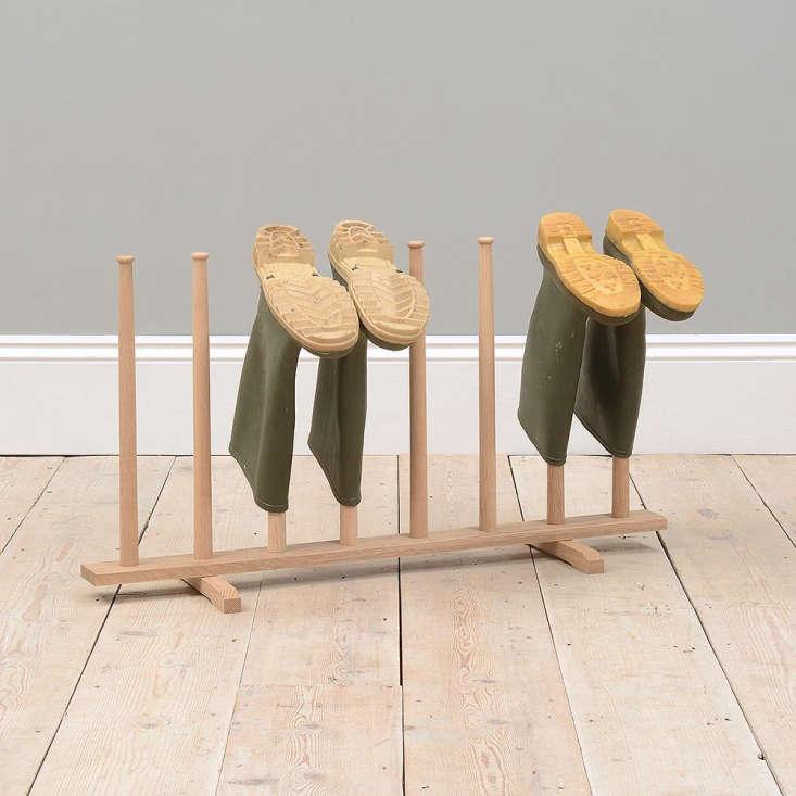 Oak Henderson boot rack from Cotswold Co