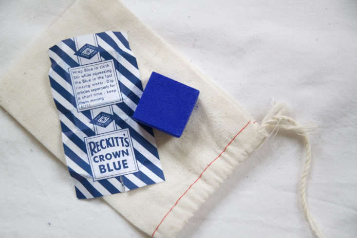 how to use bluing powder reckitts