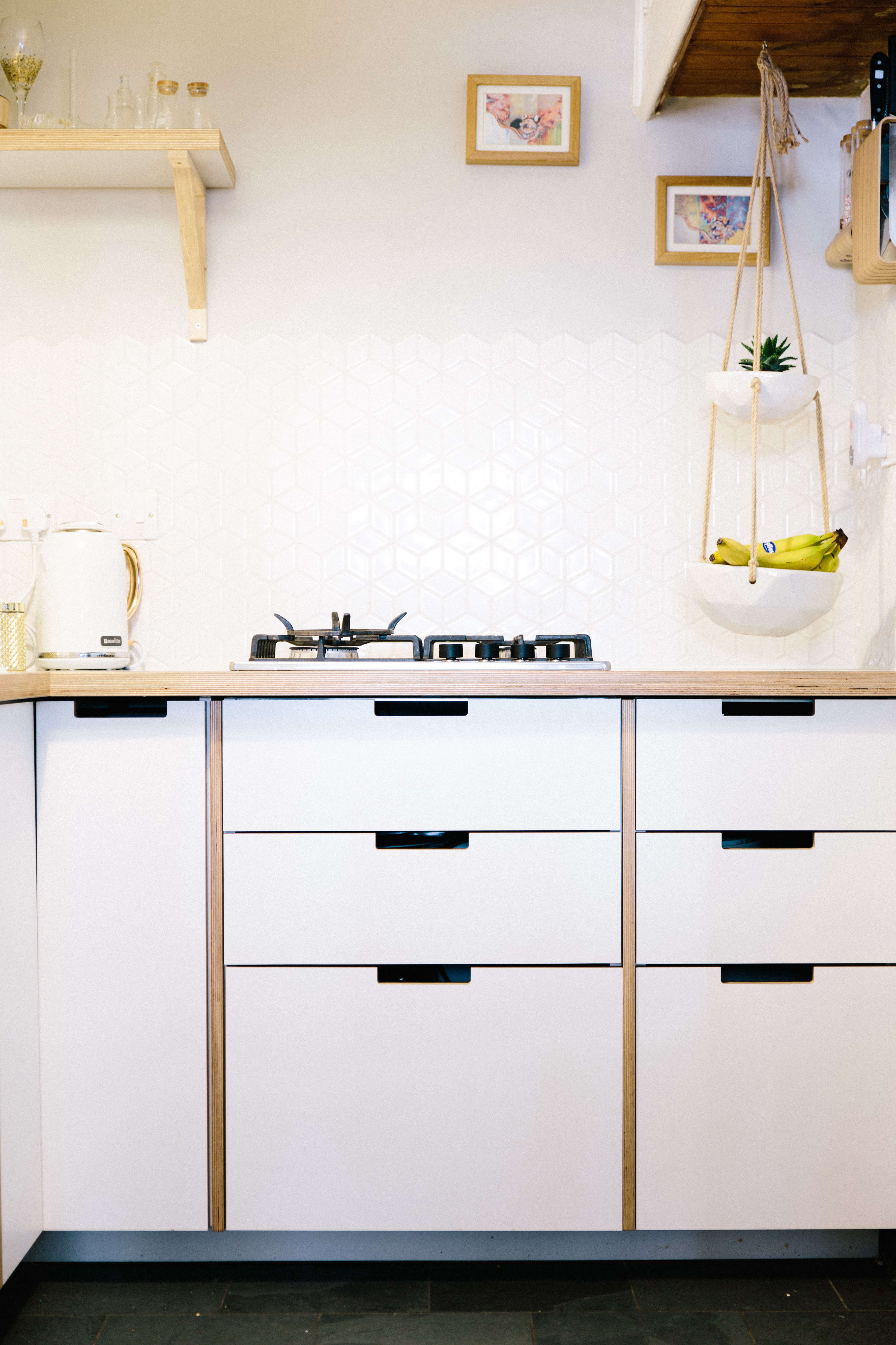 Plykea In London Stylish Plywood Cabinet Fronts And Worktops For Ikea Kitchens The Organized Home