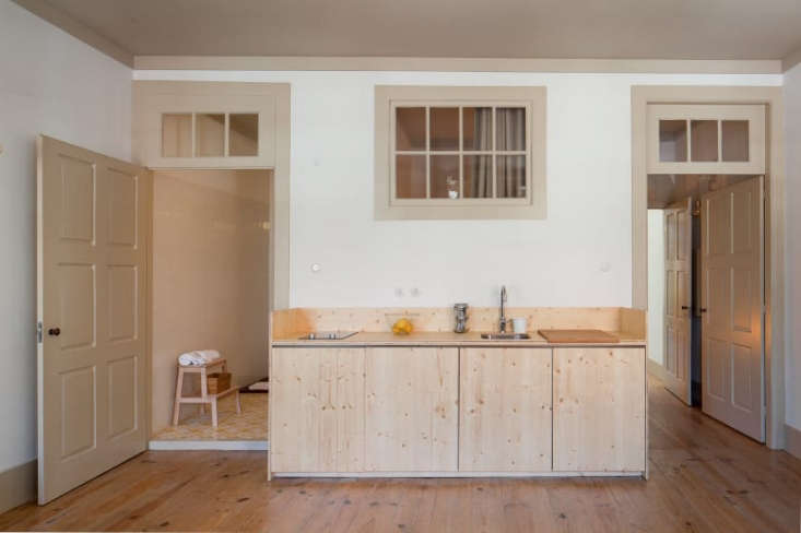 Plywood Kitchen in Portugal