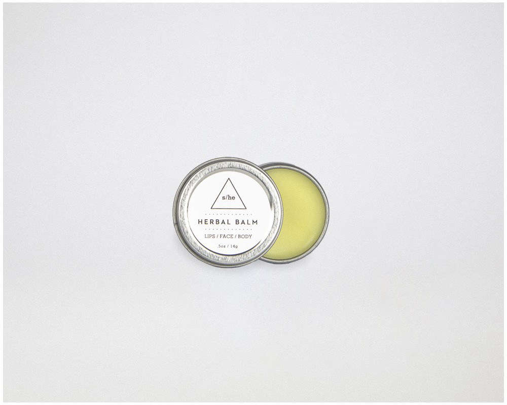 Herbal Balm from s/he