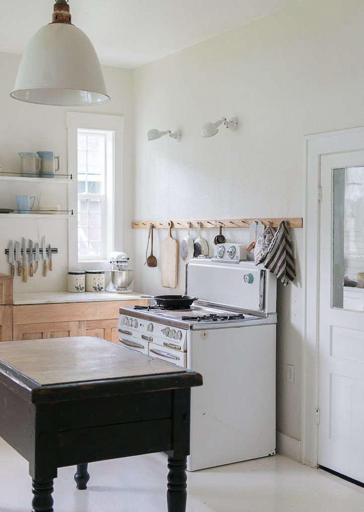 Vintage Whites Blog Budget Kitchen Remodel Black Island