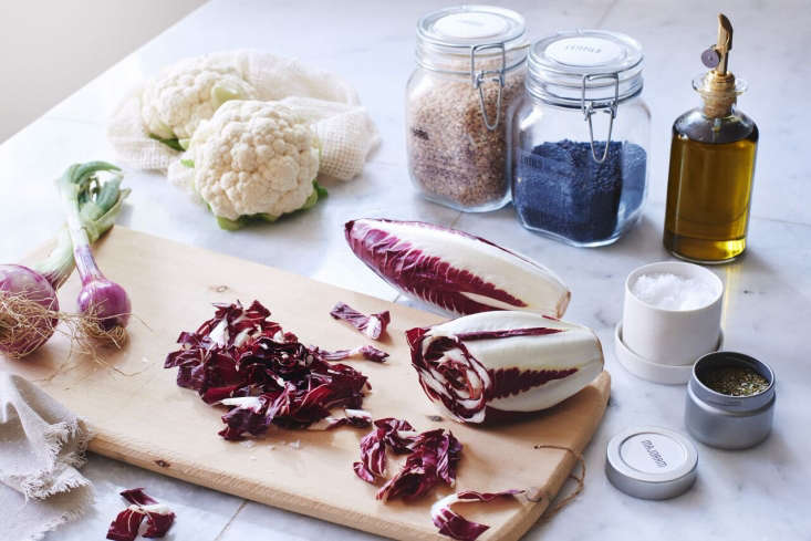 To encourage good cooking habits, Wiebke offers seasonal postcard-sizedPantry-Ready Recipe Cards ($25 for a set of 12) and an old-fashioned Recipe Card Holder ($10).
