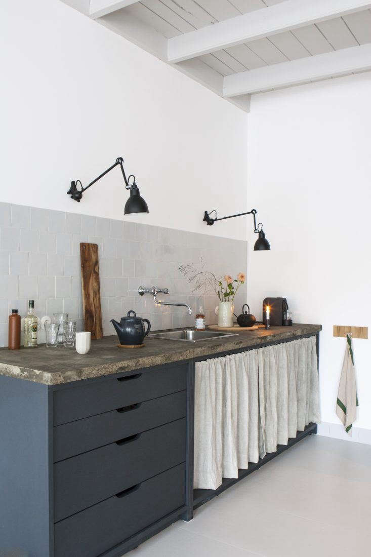 cutout cabinet pulls belgian kitchen