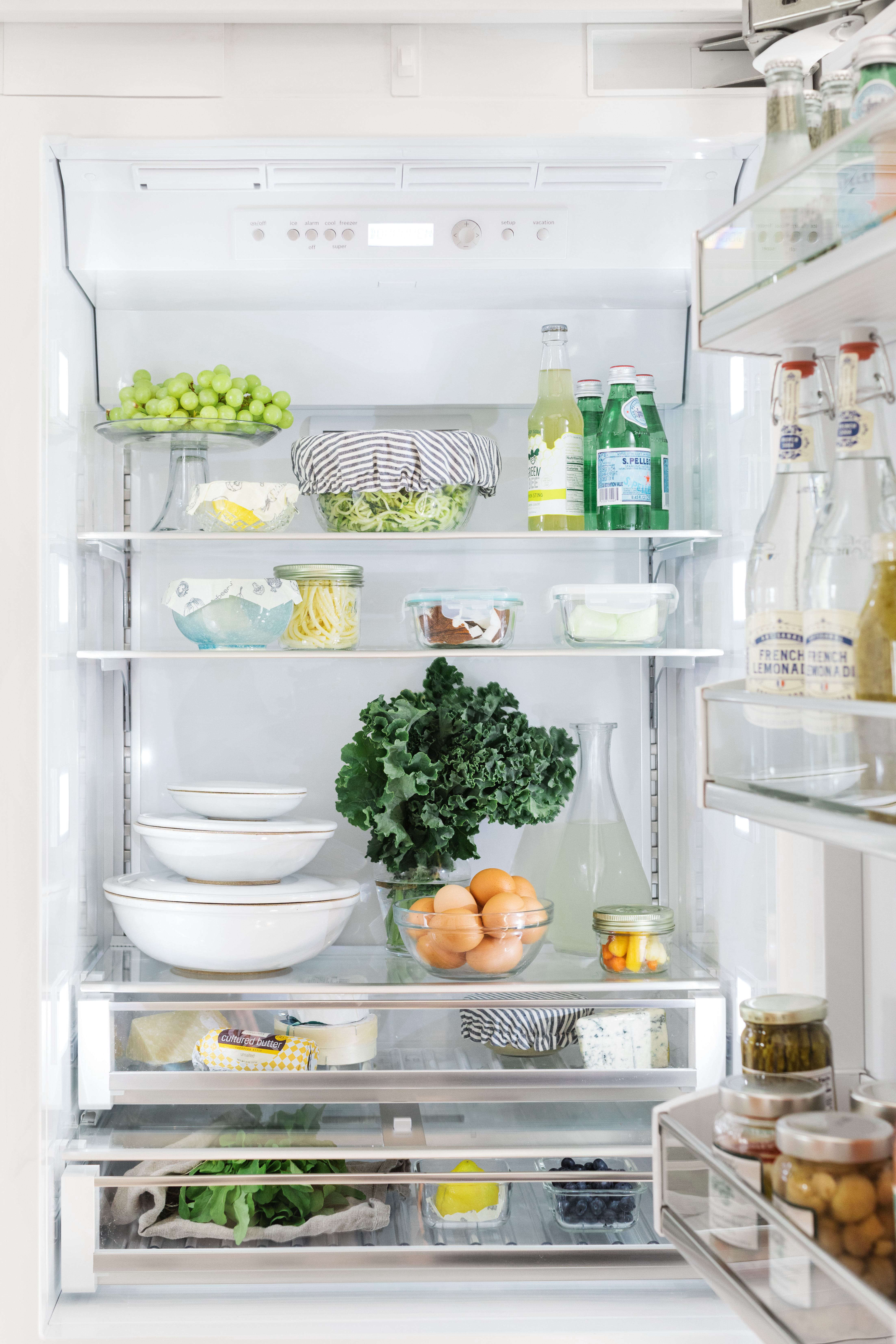 organized eco friendly refrigerator bosch full 1