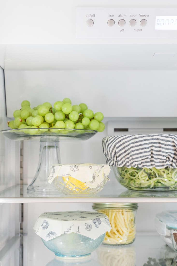 eco friendly refrigerator bosch grapes