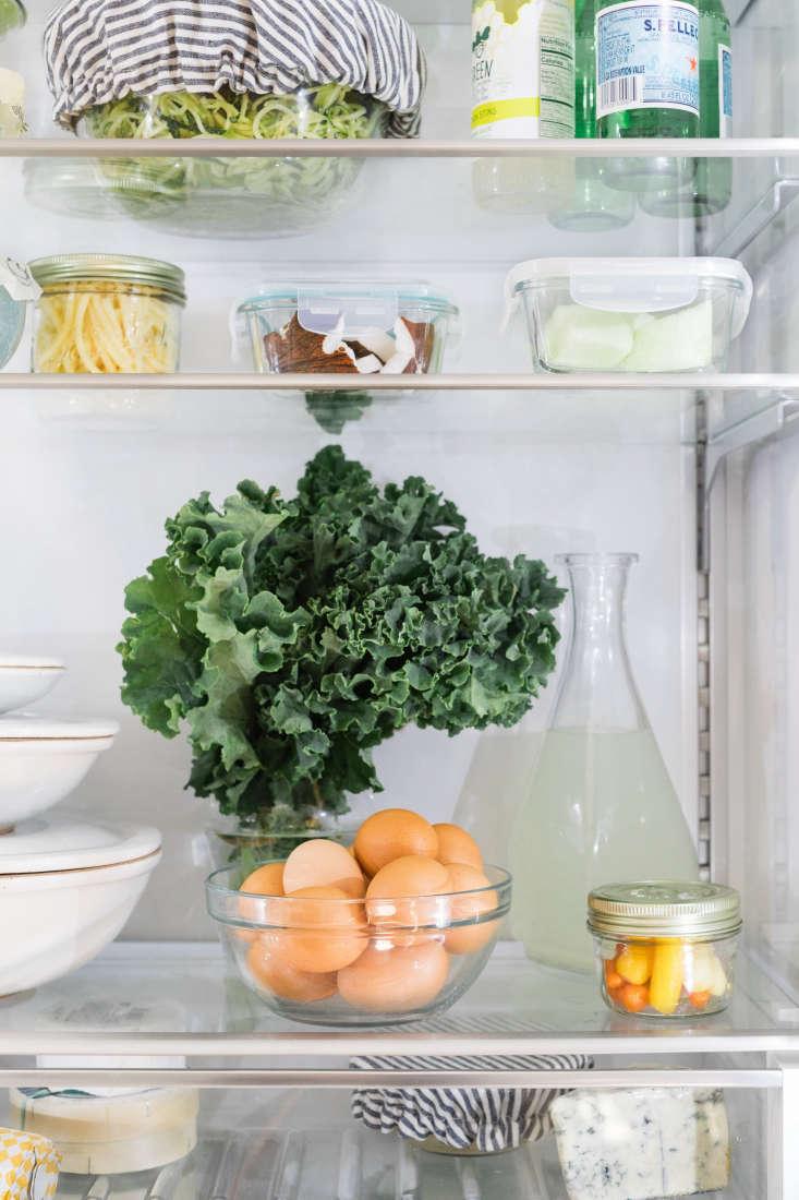organized eco friendly refrigerator bosch kale eggs