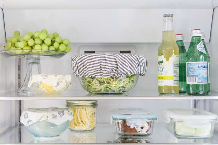 organized eco friendly refrigerator bosch shelf detail