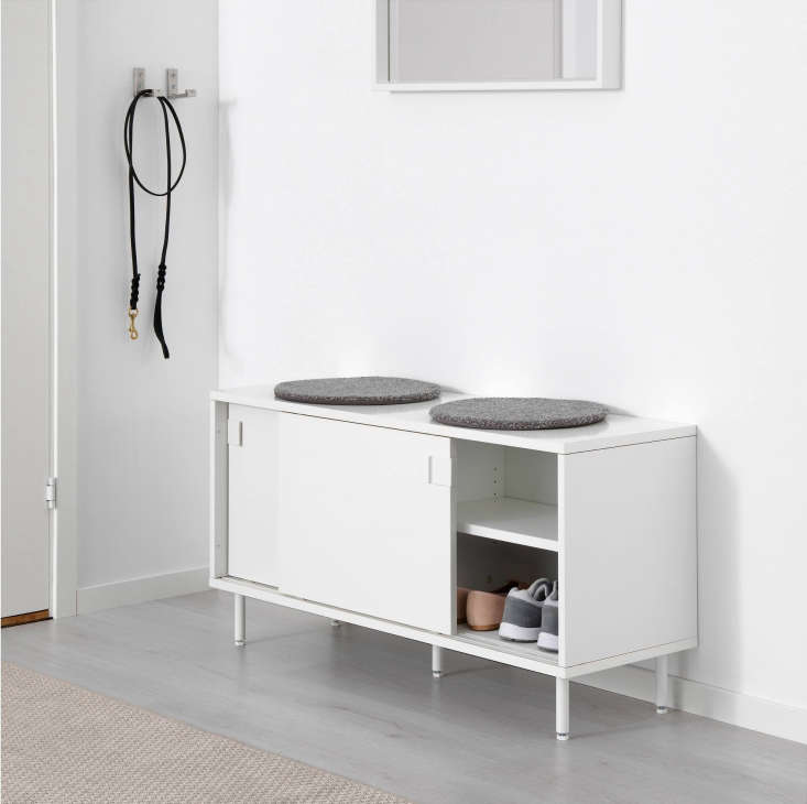 Ikea Mackapar Bench with Storage Compartments