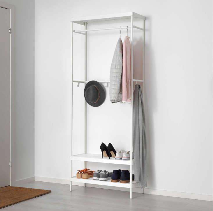 Ikea Mackapar Coat Rack with Shoe Storage Unit
