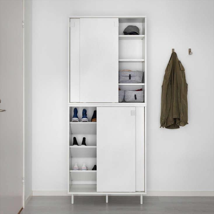 Ikea Mackapar Shoe Storage Cabinet Stacked