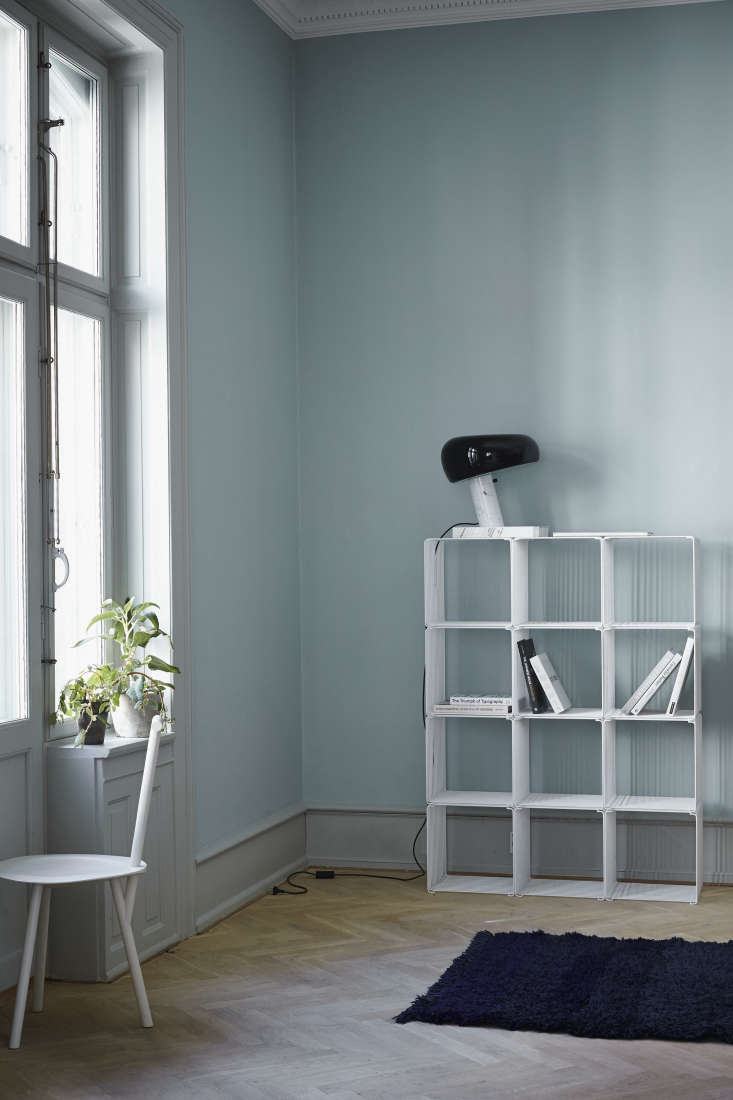 Verner Panton Wire Cube grid shelving from Montana of Denmark