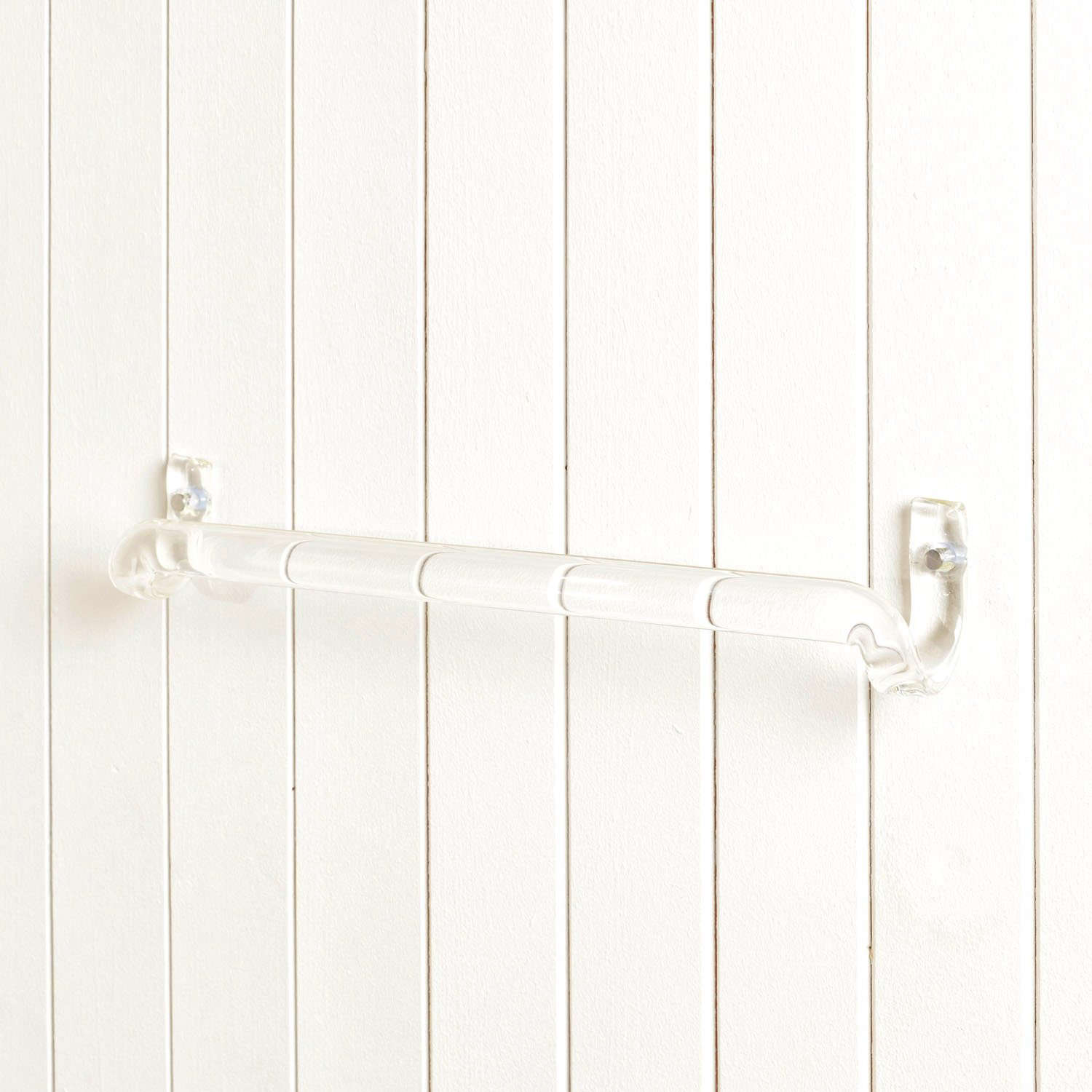 Jochen Holz Borosilicate Glass Towel Rail at The New Craftsmen