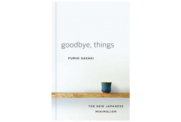 Goodbye Things Minimalism Book Cover