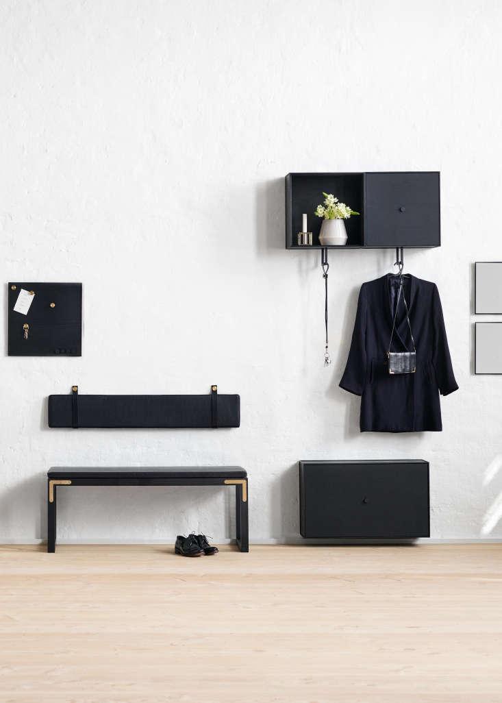 By Lassen Hallway Storage with Conekt Bench