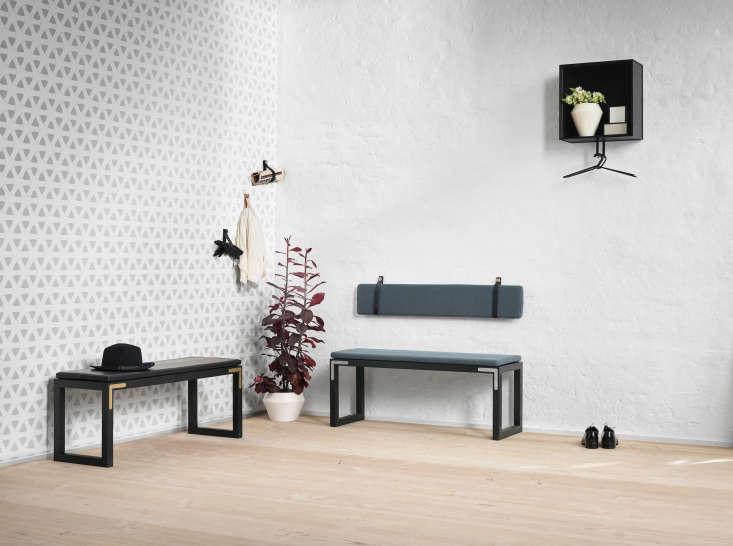 By Lassen Hallway Storage with Conekt Benches