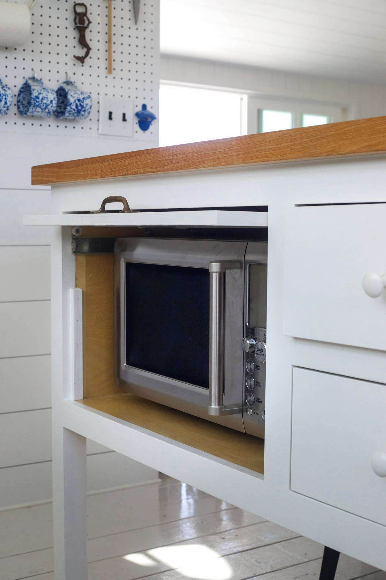 Falmouth Beach Cottage Hidden Microwave