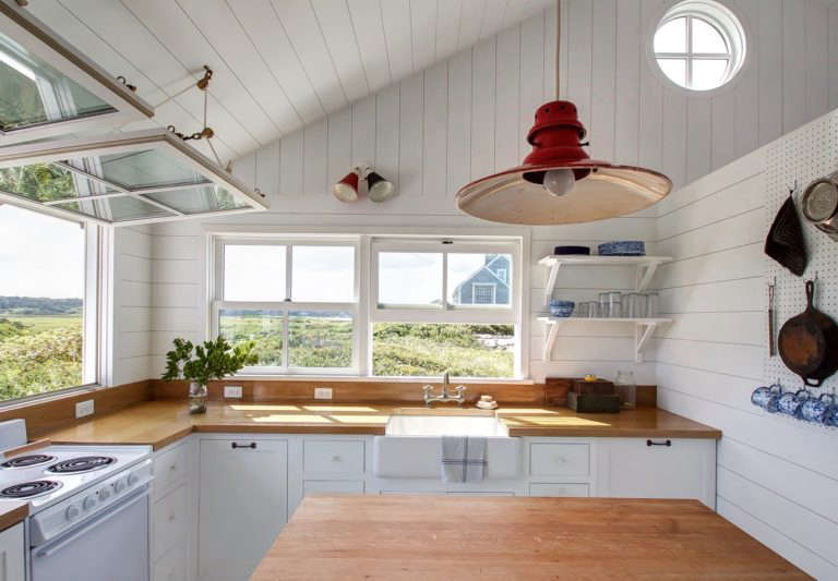 Falmouth Beach Cottage Kitchen