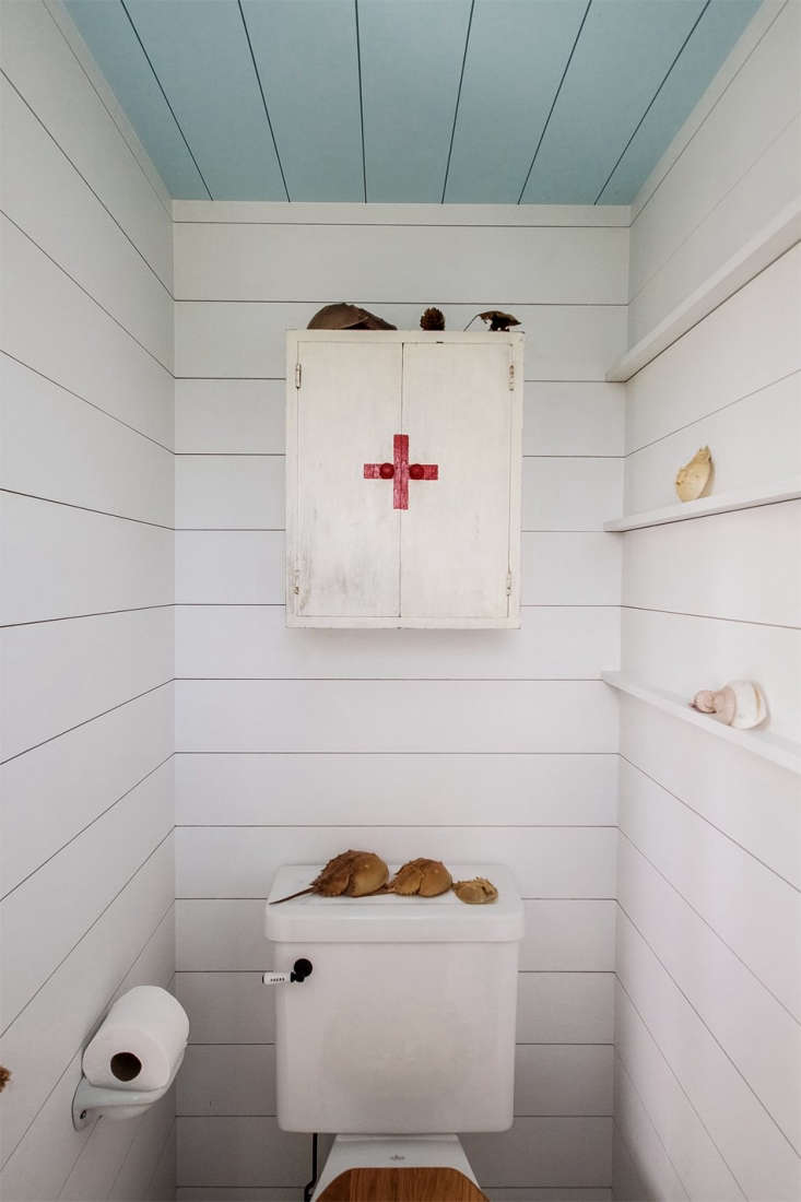Medicine Cabinet in Falmouth Beach Cottage