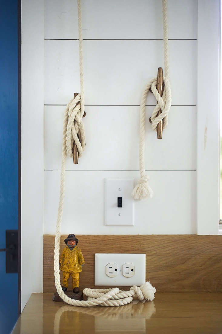 Rope Pulls in Falmouth Beach Cottage