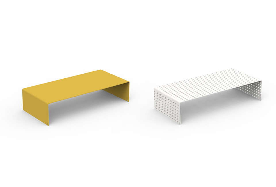 Heartwork Monitor Stands, Perforated and Solid