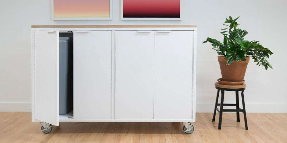 Heartwork Recycling Credenza in White