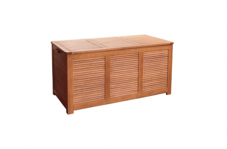 outdoor storage box from All Modern