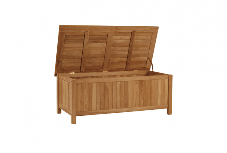 outdoor storage bench box from bison office