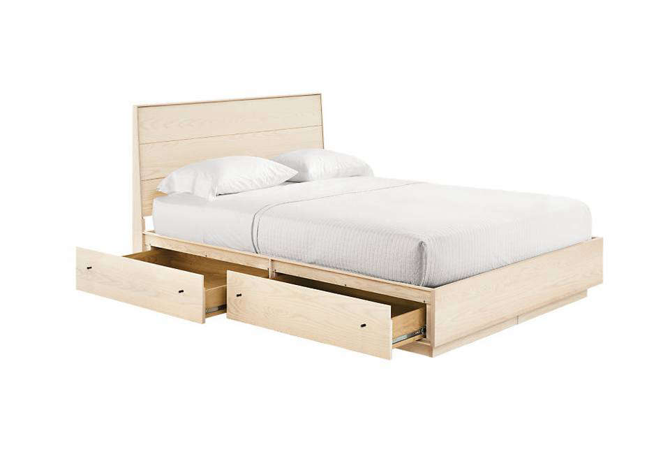 Room & Board Hudson Bed with Storage Drawers