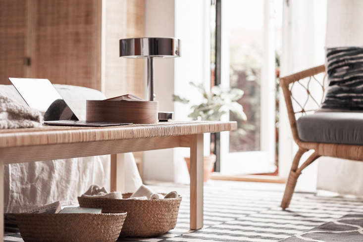 TheRattan Coffee Table from the Ikea Stockholm 2017 collectionhas been out since April, but it's still worth our attention. Made of solid pine wood with an ash veneer and rattan top, it comes in a 39-inch version ($99) and a 63-inch version ($109).