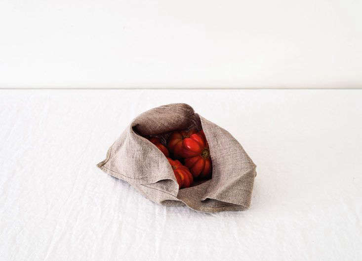 Ambatalia Linen Bowl Covers as part of the Remodelista Storage 75 Series