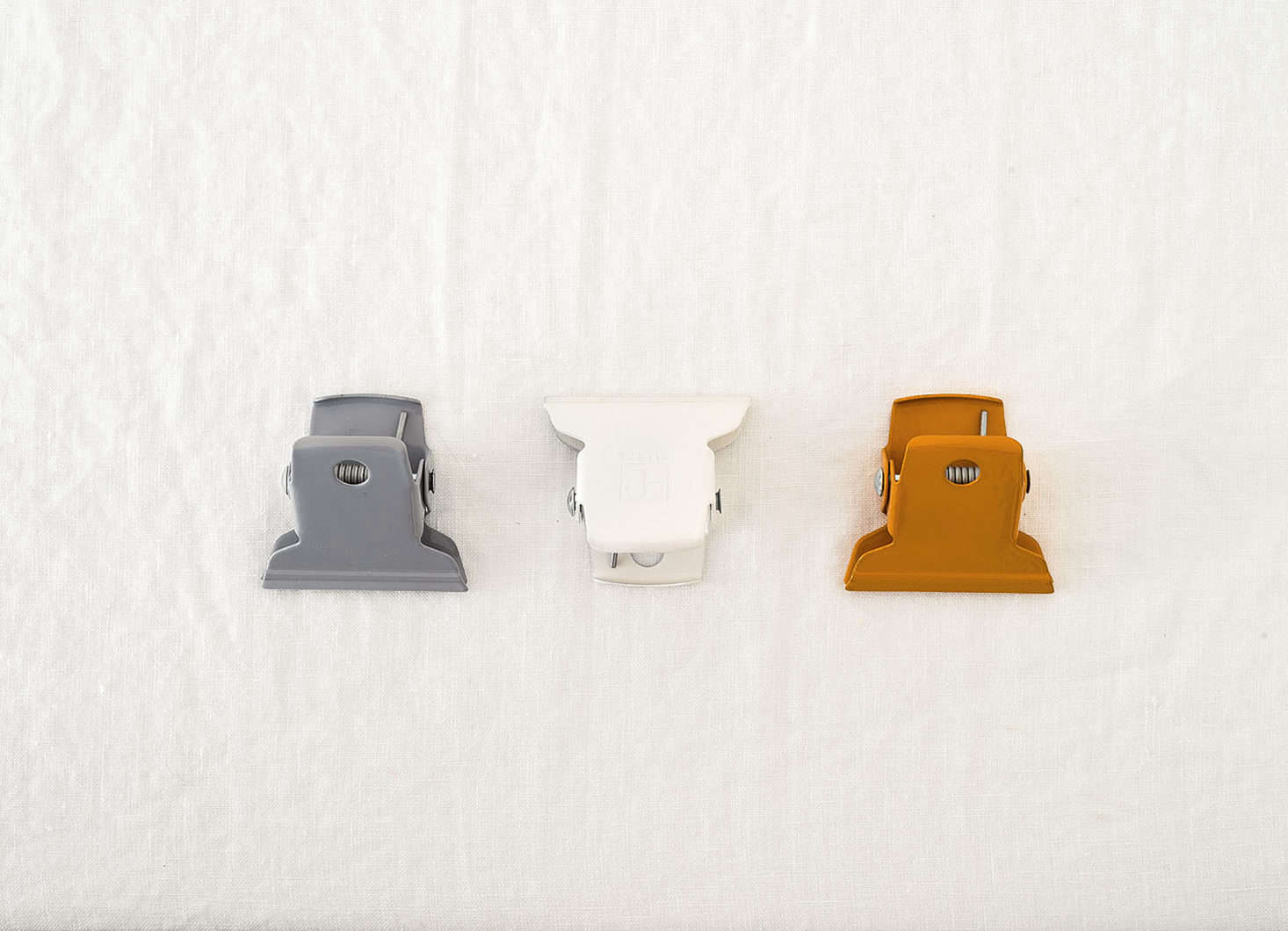 Ellepi Colored Metal Clips as part of the Remodelista Storage 75 Series