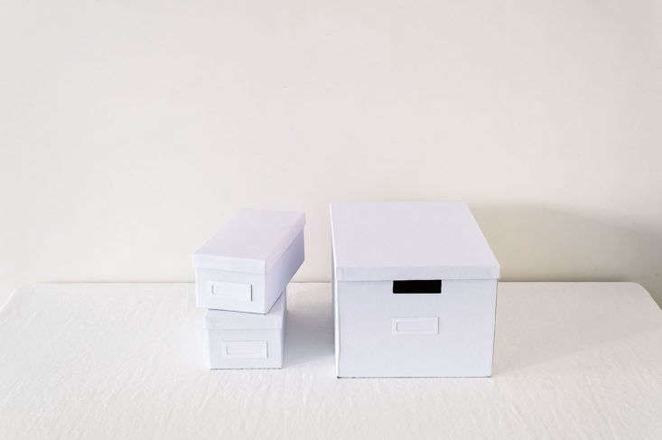 Ikea Tjena Series Boxes as part of the Remodelista Storage 75 Series