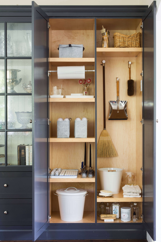utility closet storage organization shelves