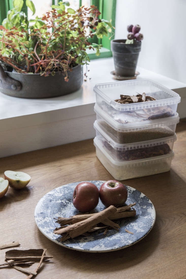 Rene and Nadine Redzepi Kitchen Plastic Storage in Copenhagen, Photo Courtesy of Dinesen