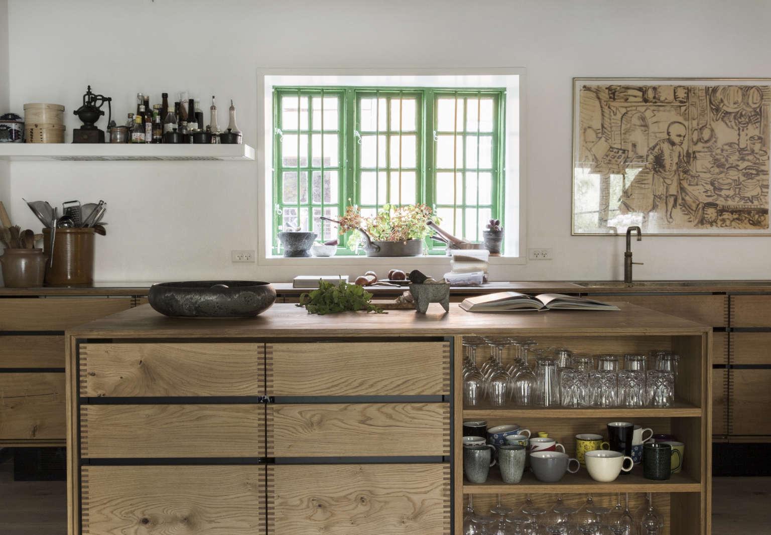 Rene and Nadine Redzepi Kitchen in Copenhagen, Photo Courtesy of Dinesen