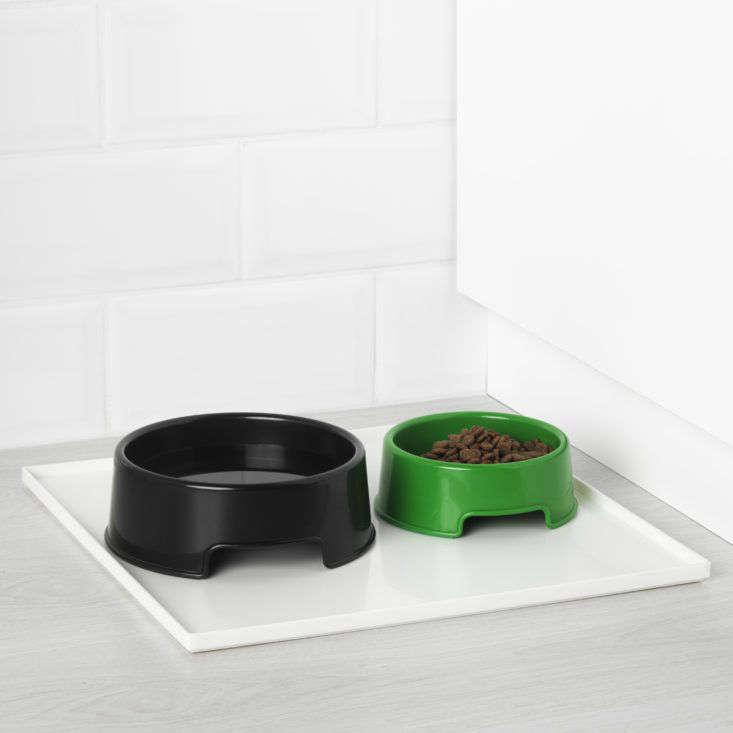 Ikea Lurvig collection dog bowls.