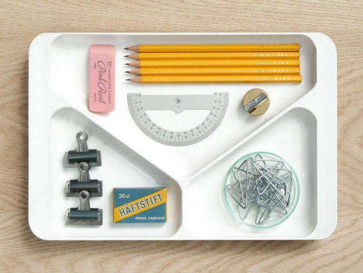 Vintage desk tray from Present and Correct in London.