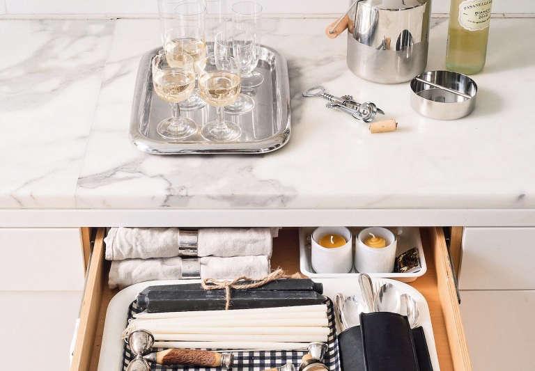 Cocktail Kit Organized Home Styling by Alexa Hotz Photo by Matthew Williams