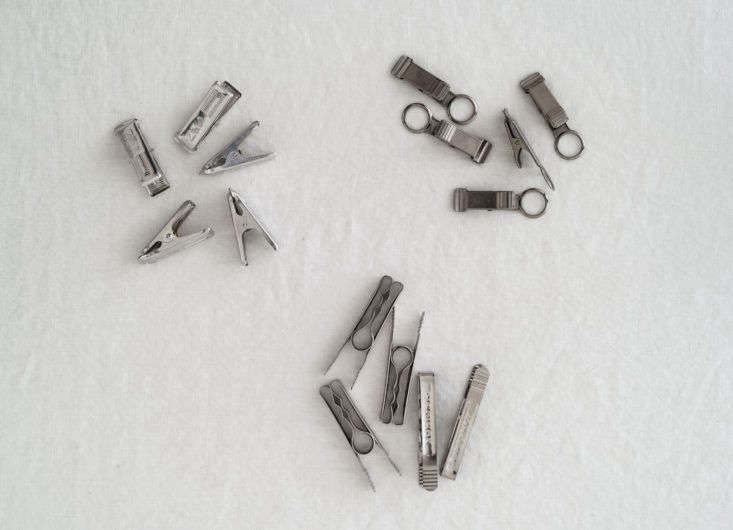 French Steel Clips Organized Home