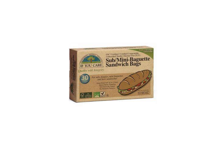 If You Care Sub/Mini Baguette Sandwich Bags