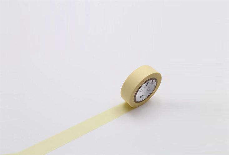 MT Washi Tape Pale Yellow