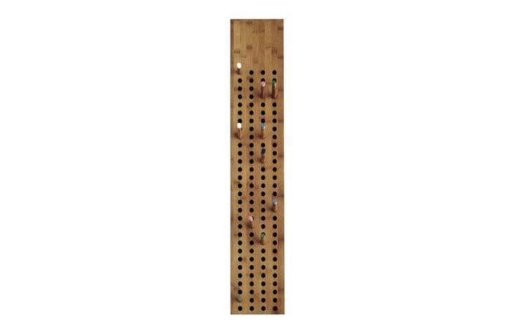 Scoreboard Coat Rack by We Do Wood via Connox