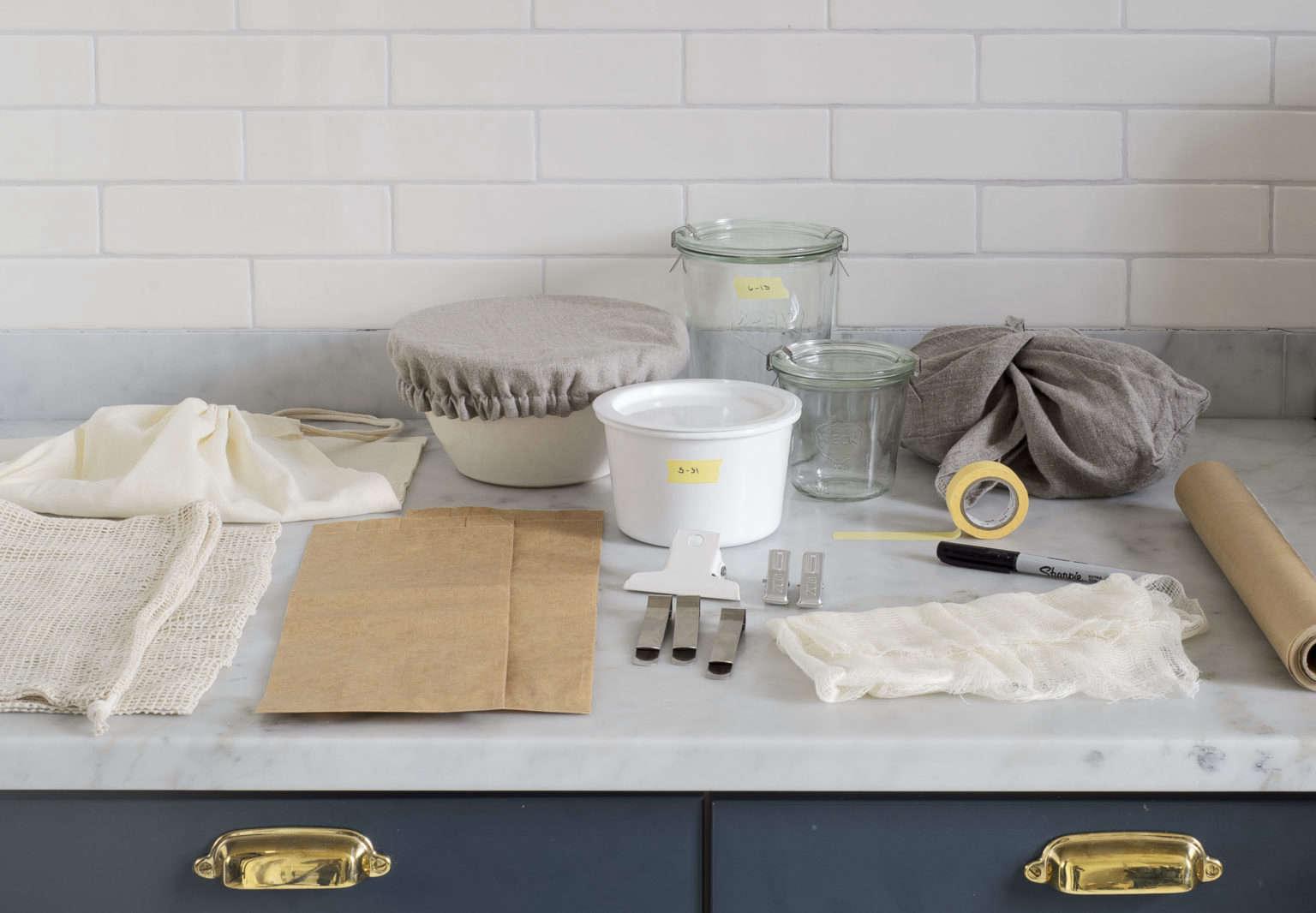 Plastic-Free Kitchen Kit Photo by Matthew Williams Styling by Alexa Hotz