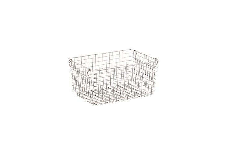 Wire Baskets with Handles from The Container Store
