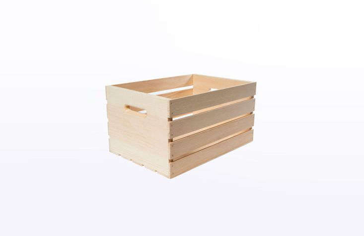 Wooden Crate from Home Depot