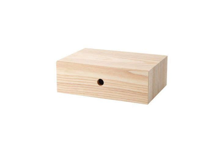 Wooden Drawer from Muji